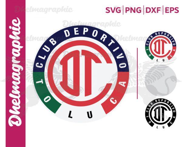 Deportivo Toluca Logo SVG Club Deportivo Toluca SVG scaled Vectorency Deportivo Toluca Logo SVG , Club Deportivo Toluca SVG