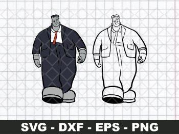 Frankenstein Frank SVG