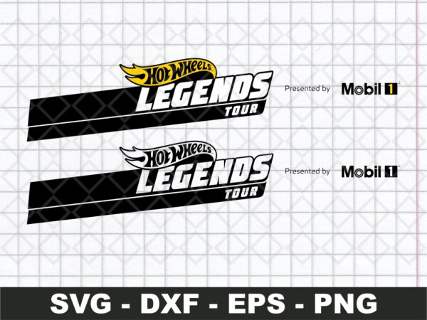 Hot Wheels SVG Design Legends Tour Vector Logo