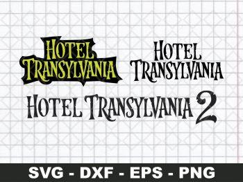 Hotel Transylvania Logo SVG