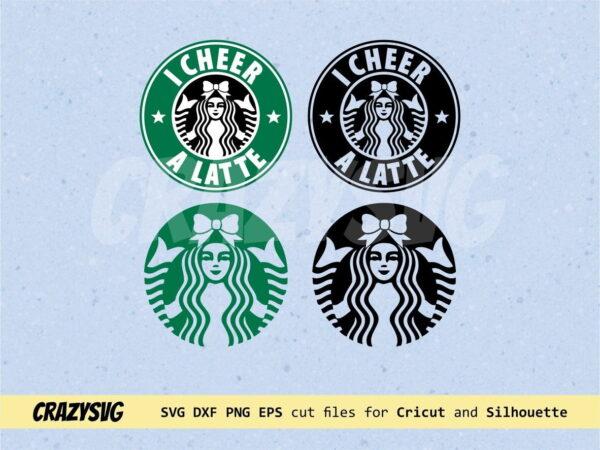 I Cheer a Latte – Starbucks Logo Cheerleader