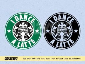 I DANCE A LATTE Starbucks Logo