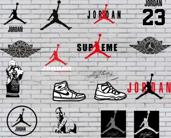 Jordan Vectorency Jordan Logo brand Vector (SVG, DXF, PDF, EPS) Instant Download