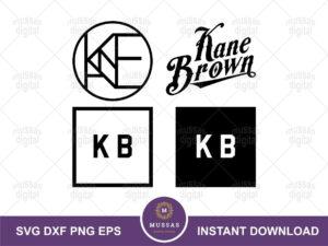 Kane Brown logo svg vector file