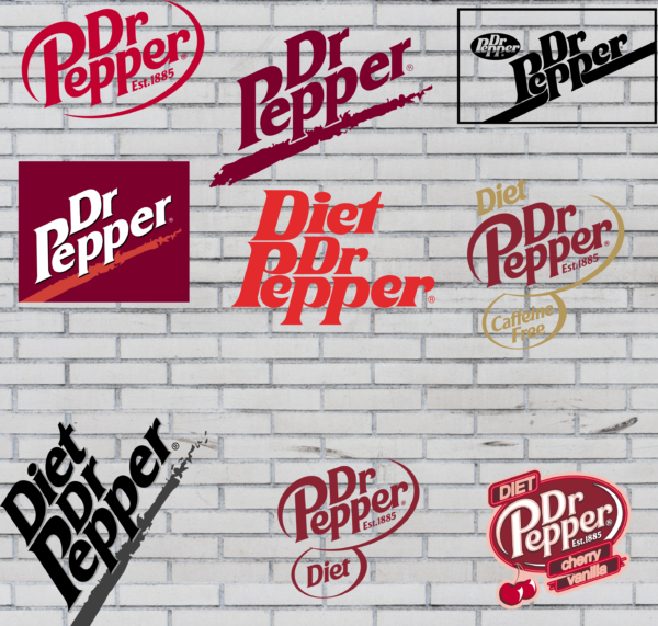 Logo 1 Vectorency Dr. Pepper Logo Vector (SVG, DXF, PDF, EPS) Instant download