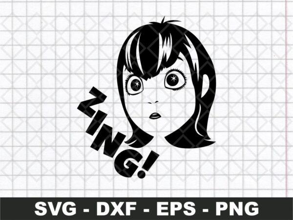 Mavis Zing SVG - Hotel Transylvania Movie svg