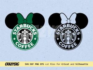 Minnie Starbucks Coffee Logo