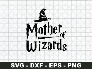Mother of wizards harry potter svg