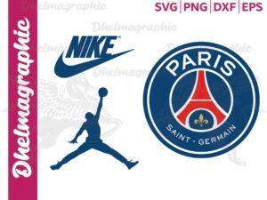PSG Logo, Paris Saint Germain Logo SVG, Nike Jordan, Nike Jumpman
