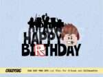 Roblox Birthday Cake Topper Cut File SVG PNG Printable Instant Download