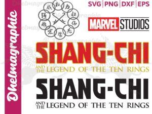 Shang-Chi Rings Logo Ring, Marvel Studio