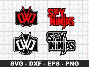 Spy Ninja Logo SVG