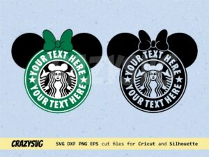 Starbucks Disney Logo Customised