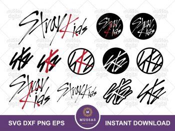 Stray Kids SVG Logo