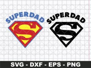 Superdad Logo SVG