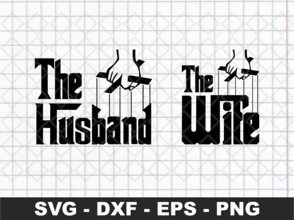 The Husband & The Wife Logo