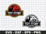 Toy Story Jurassic Park Logo