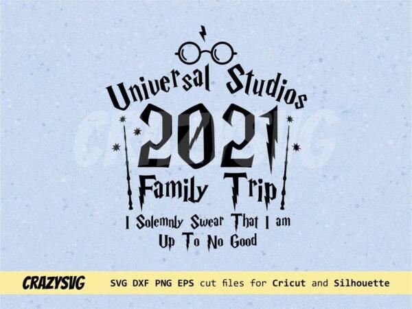 Universal Studios Family Shirts Design SVG PNG Sublimation Instant Download