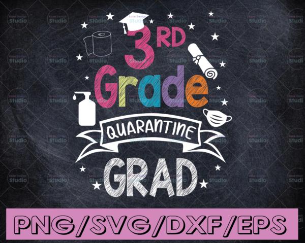 WTMETSY16122020 04 40 Vectorency 3rd Grade Graduation SVG Quarantine Gifts Senior 2021 Graduate Graduation SVG, Graduation Cricut, Senior 2021 SVG