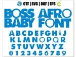 boss baby font 1