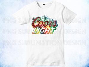 coors light sublimation design download