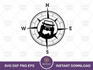 jeep compass svg