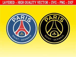 psg logo svg paris saint germain vector psg svg