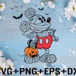 rency 01 2 Vectorency Cricut Mickey Mouse Halloween SVG, Mickey Pumpkin SVG Design Files For Cricut, Mickey Mouse Halloween Printable, Digital File