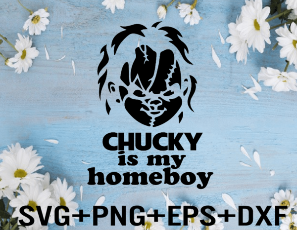 rency 01 6 Vectorency Chucky SVG, Chucky is my Homeboy SVG, Boys Halloween SVG, Halloween Shirt, Horror SVG, EPS, PNG, DXF