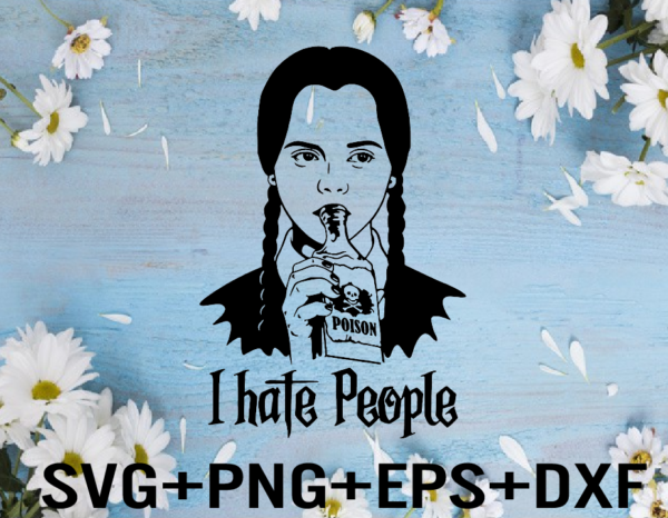 rency 01 Vectorency I hate people svg, I hate everything, SVG, Family Svg, F*ck people, Funny tshirt design, Funny Svg, Cricut Halloween Svg