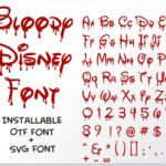 1 Vectorency Halloween Bloody Dripping font otf, Halloween Dripping font svg, Halloween Bloody Dripping letters SVG file for cricut, Bloody Dripping font, Dripping font