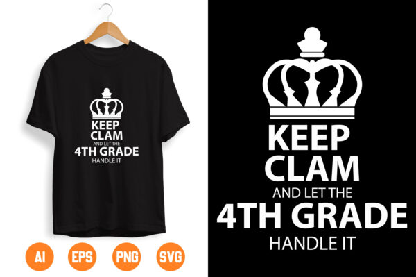 1 scaled Vectorency Keep Calm And Let the 4th Handle It Svg, Trending Svg, Unique Gifts Svg, Download File Svg, Dxf, Png, Eps, Pdf