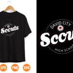13 Vectorency David City Scouts High School SVG PNG DXF Cut Files, Teacher Halloween svg , Funny Teacher Svg