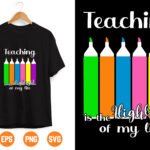 15 1 Vectorency Teacher SVG   Teaching Svg   Funny Teacher Svg   Teacher Life Svg   Teaching Is My Highlight Svg   Teacher Appreciation Svg   Teacher Gift