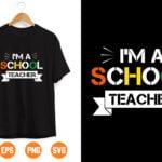 4 1 Vectorency I Am a school Teacher SVG, SVG and png digital Download , Teacher Gift SVG Download, Savage Song svg, Classy Teacher svg