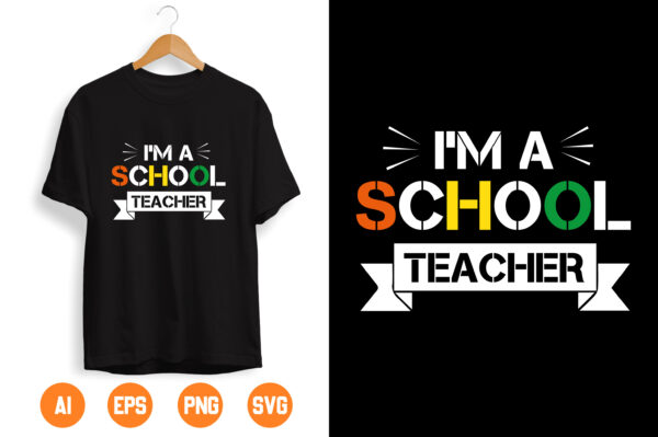 4 1 scaled Vectorency I Am a school Teacher SVG, SVG and png digital Download , Teacher Gift SVG Download, Savage Song svg, Classy Teacher svg