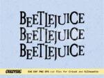 Beetlejuice Shirt Design Beetlejuice SVG Halloween