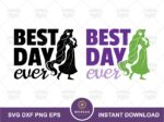 Best Day Ever SVG, Pascal, Rapunzel Quote