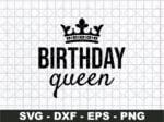 Birthday Queen Svg, Birthday Svg