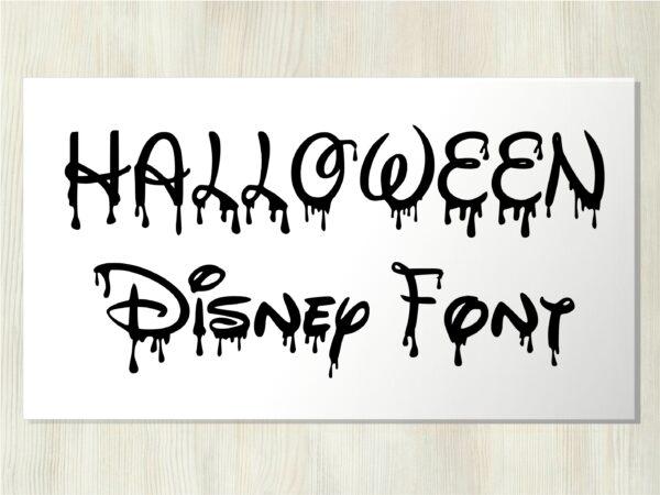 Bloody Disney 6 scaled Vectorency Halloween Bloody Dripping font otf, Halloween Dripping font svg, Halloween Bloody Dripping letters SVG file for cricut, Bloody Dripping font, Dripping font