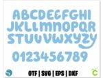 Bluey font 1