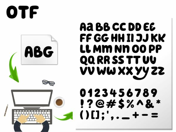 Bluey font 5 scaled Vectorency Blue Font SVG, Blue Font OTF, Blue letters SVG, Blue Alphabet SVG, Blue Svg Cricut, Bluey font svg, Blue svg birthday shirt