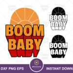 Boom Baby SVG, Kuzco Quote