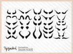 Bull Horns SVG Bundle