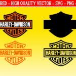 Easy Cut Harley Davidson SVG Layered