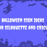 Halloween Sign Ideas Vectorency Halloween Sign Ideas for Silhouette and Cricut