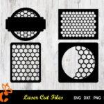 Honeycomb Panels Listing Vectorency Honeycomb panels SVG laser cut file