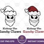 Jack Sandy Claws SVG, Disney Quotes