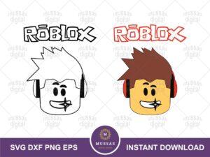 Roblox Faces SVG