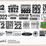 Senior 2022 Class of 2022 SVG Bundle